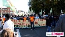 Des Parisiens manifestent en soutien aux migrants