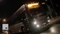 Finnish protesters attack refugee bus with fireworks and stones