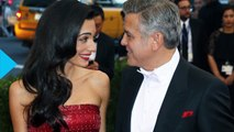 George and Amal Clooney Celebrate First Year of Marriage