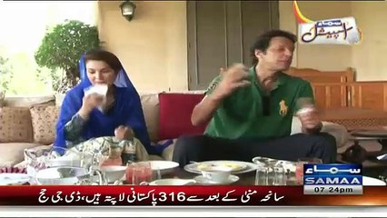 How You Thought About Marriage With Reham:- Imran Khan Telling