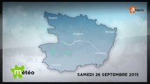METEO SEPTEMBRE 2015 [S.9] [E.26] - Météo locale - Prévisions du samedi 26 septembre 2015