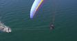 Paramotor + Kitesurfing = Para-surfing   What Happens When You...