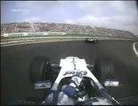 2004 Chinese GP- Juan Pablo Montoya, Raikkonen, Button
