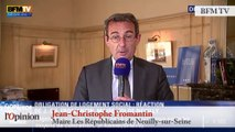TextO' : Roger Karoutchi - Loi SRU : «Réquisitionner, préempter, ça n'a jamais été une bonne solution»