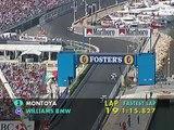 F1 Monaco GP 2003 - Juan Pablo Montoya Vs Ralf Schumacher