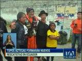 Topos Aztecas formarán nuevos rescatistas en Ecuador