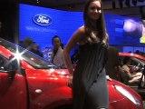 Les plus belles hôtesses du salon de l'auto 2008
