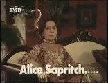 Publicité Jex four avec Alice Sapritch