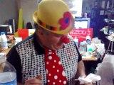 """les plus grands magiciens du monde """"pour Darlyn"""" cassou le clown"""