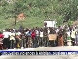 """Côte d'Ivoire: 6 femmes tuées à Abidjan, l'ONU craint une """"guerre civile"""""""