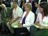 Déclaration d'Eva Joly, candidate des Verts