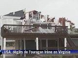 Irène, rétrogradé en tempête tropicale,  frappe New York, neuf morts aux Etats-Unis