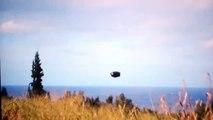 WOW 2015 BIG UFO!! False Flag Flying Saucer Black Ops? UFO Sighting [VIDEO]