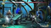 Injustice  Gods Among Us Ultimate Edition - Aquaman vs evil Aquaman