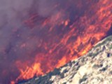 Calif. wildfire forces summer camp evacuation