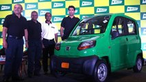 Bajaj Qute Quadricycle Launched at Rs 1.32 lakh