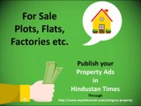 Property Ads, Property Classified Advertisement in Newspaper, Property Sale Newspaper Ads - Myadvtcorner
