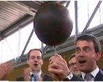 Quand Manuel Valls assure le spectacle