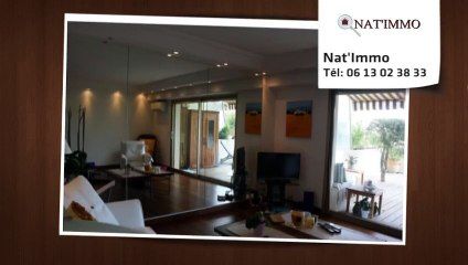 CANNES - Appartement  3 Pièce(s) 69 m²  à vendre  cannes croix des gardes piscine vue mer jardin terrasse