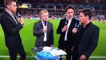 Giggs curls ball onto Scholes foot during interview