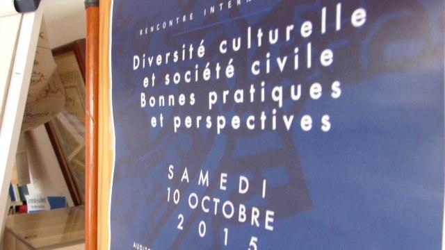Rencontre Internationale sur La Diversité Culturelle - 10 Octobre 2015
