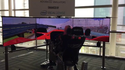 Advanced formula One Simulator at #twitchcon
