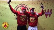 Winamax Beer Pong Open - Les yeux dans les rouges