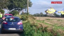 Cavan (22). Quatre blessés dont deux graves  dans un accident