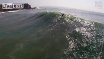 Nazaré - Bodyboard - Sumol Nazaré Special 2014 Big Waves Competition - Aerial Footage