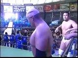 GHC Tag Team Championship Match Minoru Suzuki & Naomichi Marufuji VS Jun Akiyama & Makoto Hashi