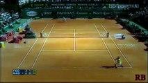 Roger Federer vs Rafael Nadal - Best Points & Rallies on Clay HD