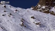 LiveLeak.com - Temmos Free Ride Chamonix Snowboarding Fail