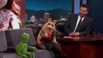 Kermit the Frog & Miss Piggy on Jimmy Kimmel Live
