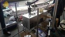 CYCJET B3020 Industrial Inkjet Printers Printing Stainless Steel_Small Character inkjet printer_How to print SS pipe  by manual_Small Character inkjet printers_Automatic inkjet printer_Expiry date printer