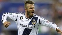 David Beckham goal on free kick vs Montreal Impact, MLS Highlight