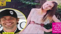 Paul Walker Daughter Meadow walker speaks Out About Her Dad Death [Paul walker Funeral]
