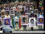 Miles de mexicanos alzan la voz por los 43 de Ayotzinapa
