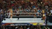 WWE WrestleMania 28 - Kelly Kelly & Maria Menounos vs. Beth Phoenix & Eve Torres