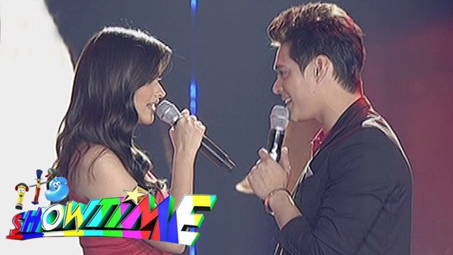 "It's Showtime: Liza, Enrique sing ""Forevermore"" on 'Showtime Kapamilya Day'"