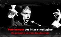 Karaoké Jacques Brel - Madeleine