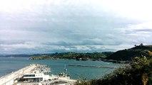 Paisaje Candás, Asturias, 17 agosto