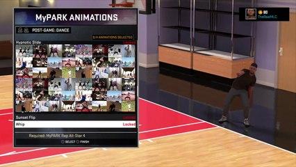 Danses et célébrations de NBA 2K16