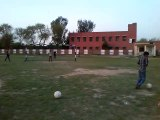 Kicking Football from extreme outer side of foot in Soccer A new way of kicking football powerful shot