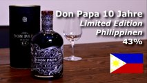 Rum Review Don Papa Rum 10Jahre - 4finespirits - Rum Blog