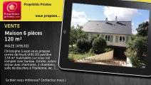A vendre - Maison - MAZE (49630) - 6 pièces - 120m²