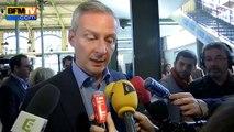 """Bruno Le Maire (LR) réclame une """"vraie coalition internationale"""""""