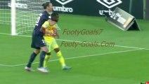 Zlatan Ibrahimovic put Nantes defender Wilfried Moimbe in a chokehold, twice - latest football news videos