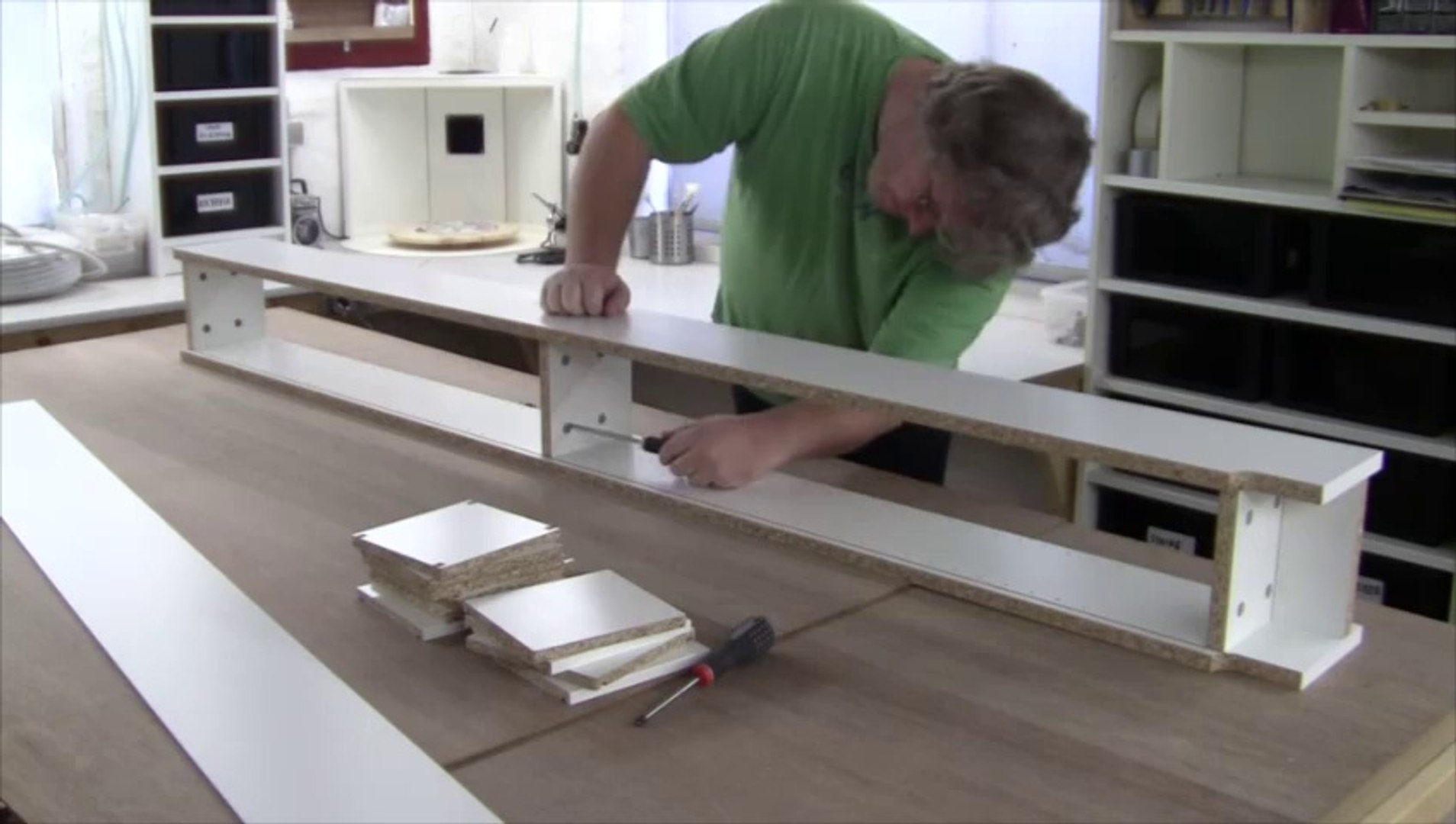 Assembling The Ikea Gnedby And Some Shelves And Using Them In My Electronics Workshop