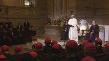 Pope Francis meets with U.S. bishops in Philadelphia