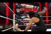 WWE RAW 21-9-2015 Roman Reigns vs Bray Wyatt Full Match But Ambrose _ Randy Orton Help Roman  incredible Fight 21th September 2015 - Video Dailymotion